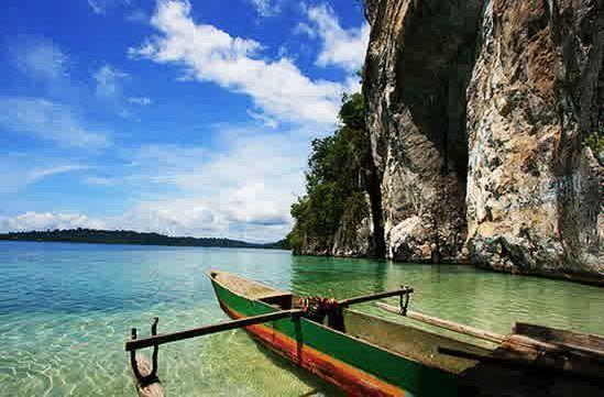 pantai ora maluku tengah, the indonesian only