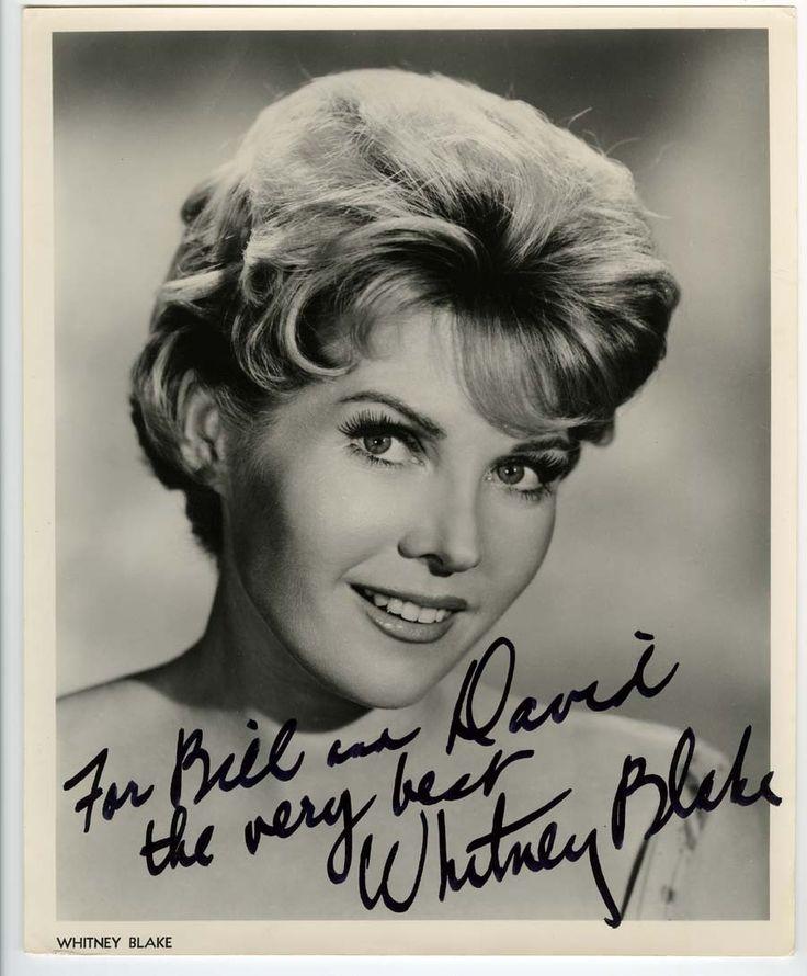Whitney Blake Autographed Photo