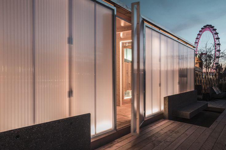 Rooftop Sauna in London / Aalto University - School of Arts, Design and Architecture