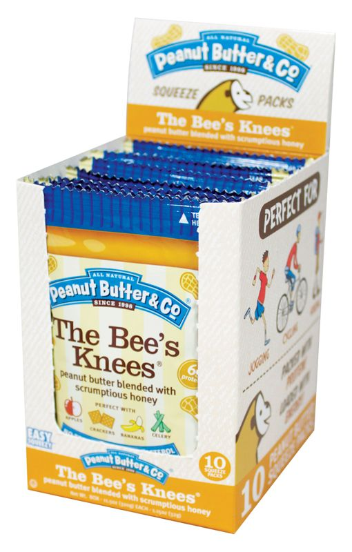 The Bee's Knees Squeeze Packs - 10 PK   Spreads, Butter ...