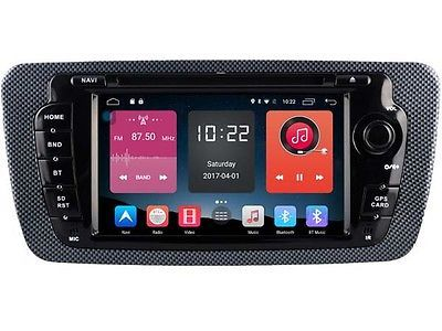 "﹩300.00. 6.2"" Android 6.0 Car DVD Player Radio GPS for Seat Ibiza 2009-2014 TPMS LTE OBD    Manufacturer Part Number - W2-K7790, Features - Auxiliary Input, Screen Size - 6.2"", Unit Size - 2 DIN, Flash memory - 16Gb, RAM memory - 2Gb, CPU - Quad Core, Resolution - 800*480, System - Android 6.0, Car DVR - Support our DVR (optional), Rear view camera - Support (optional), Digital TV - Support DVB-T, ISDB-T, ATSC (optional)"