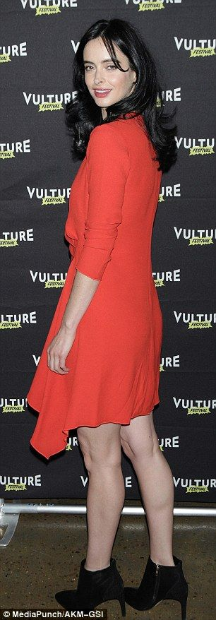 Krysten Ritter stuns at Vulture Festival in New York | Daily Mail Online