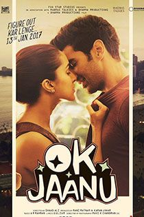 Ok Jaanu (2017) Hindi Movie Online in HD - Einthusan Aditya Roy Kapur ,Shraddha Kapoor Directed by Shaad Ali Music by A. R. Rahman 2017 [UA] ENGLISH SUBTITLE