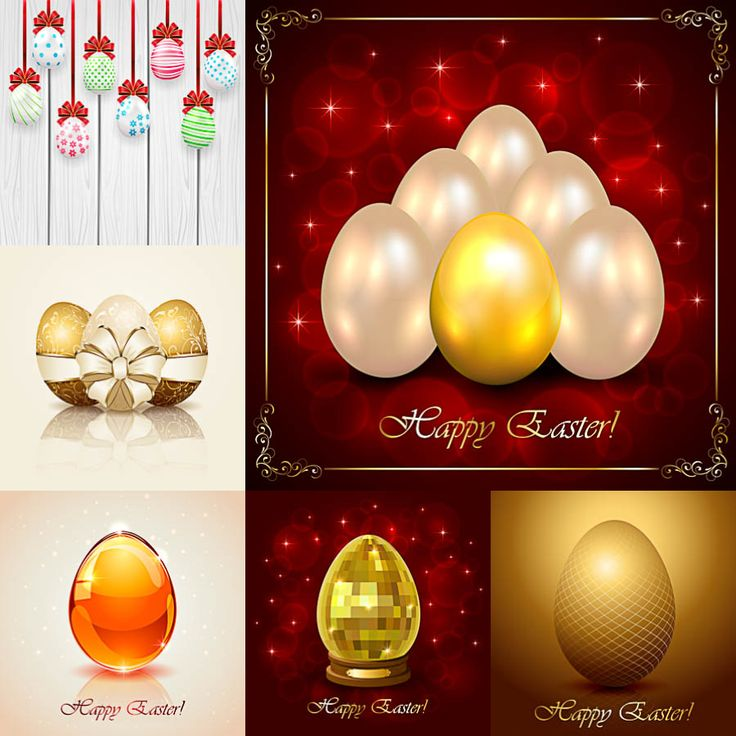 Best Easter Cards Backgrounds Banners Eggs Templates In