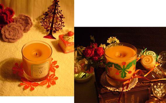 xmas,クリスマス,キャンドル、作り方、折り紙、飾りつけ、切り紙、型紙
