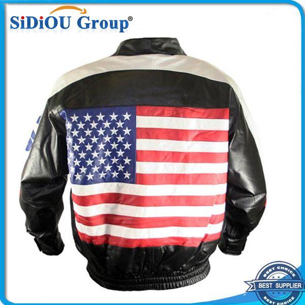 Ee. uu. bandera de cuero chaqueta de cuero chaqueta de vuelo-imagen-Chaquetas-Identificación del producto:60098647830-spanish.alibaba.com