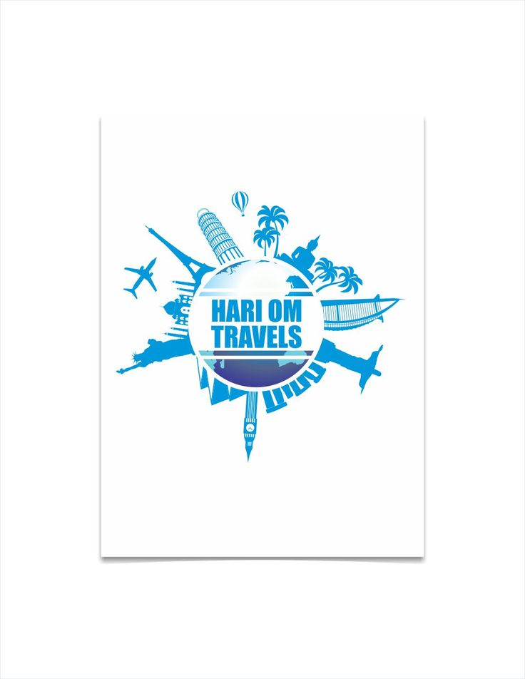 Travel Company logo by Graphic Designer Vijay Deore
