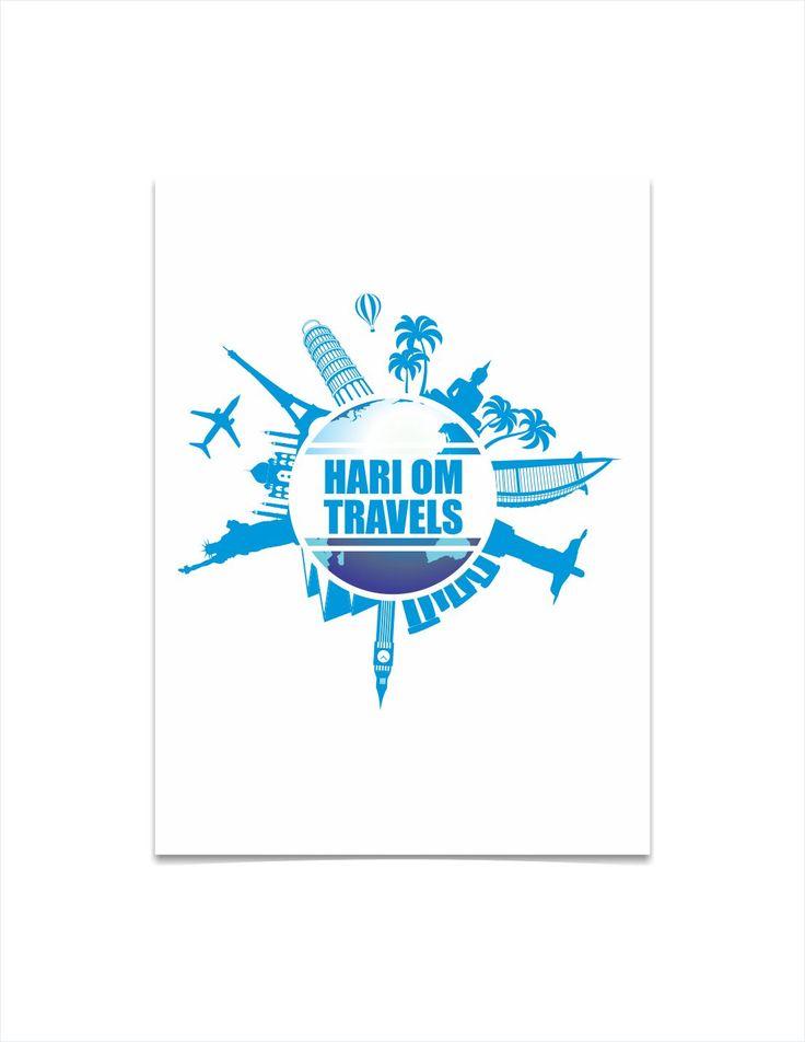 Travel Company logo by Graphic Designer Vijay Deore
