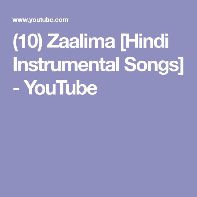 (10) Zaalima [Hindi Instrumental Songs] - YouTube