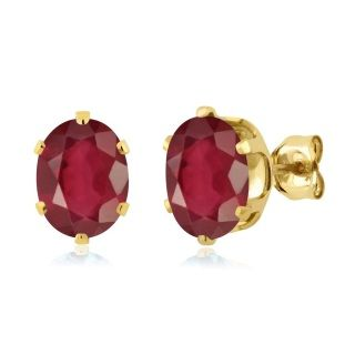 Handcrafted in solid 18K gold...July Birthstone Free Shipping