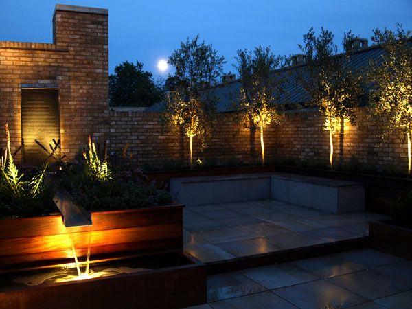 Landscape Lighting On Roof : Images about garden design lighting on