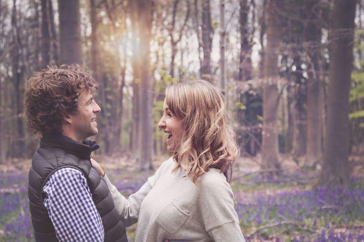bluebell mini photo shoot| bluebells| couple photo| hampshire