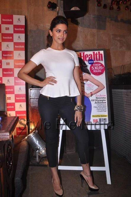 Deepika Padukone at launch of Women's Health July August 2012 cover (2)