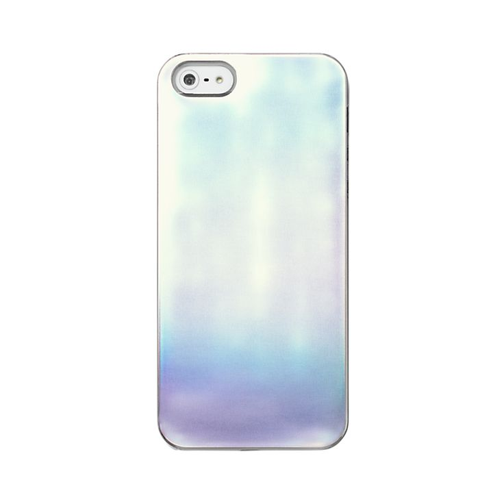 iPhone 5 Case in Silver Iridescent Solid - Kate Spade Saturday