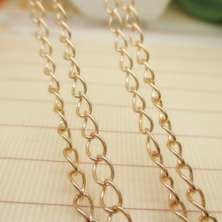 twisty dubai new gold chain design girls jewelry chain