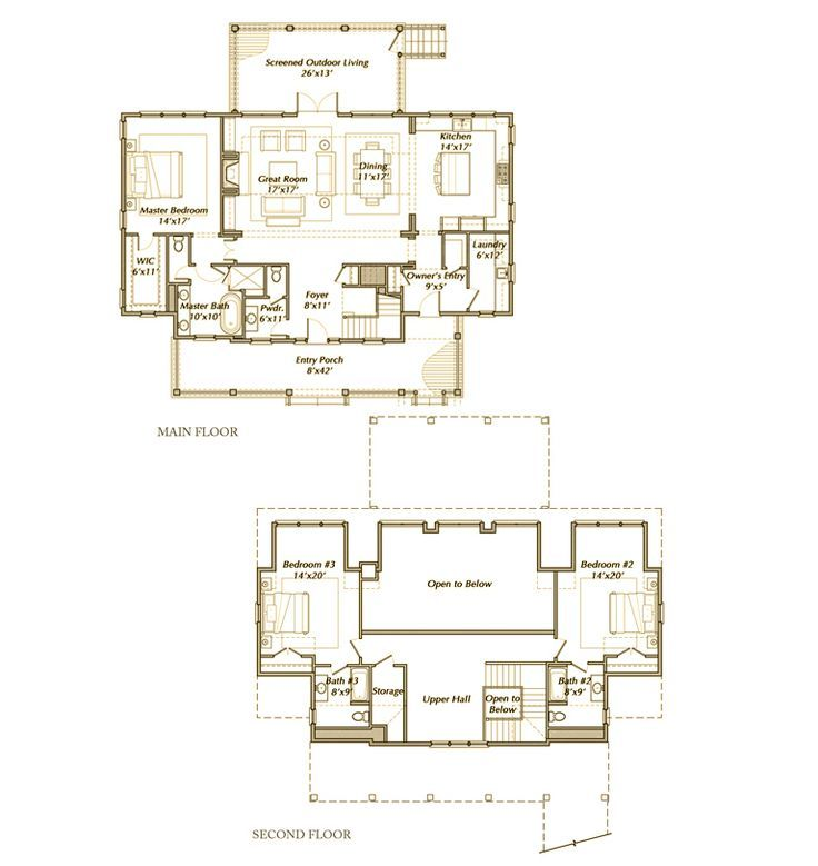 1000 Images About Two Story House Plans On Pinterest