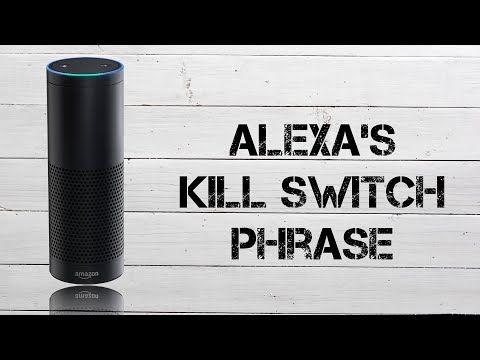 "Alexa's ""Kill Switch"" Phrase - Amazon Echo Tip & Trick - YouTube"