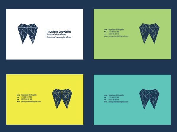 A logo created based on the way all of us need our teeth to feel an look.
