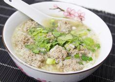 Khao Tom ข้าวต้ม (Thailändische Reissuppe)