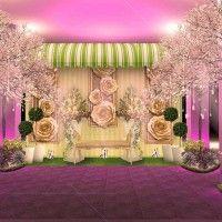 8 Ide Dekorasi Pernikahan dari yang Cantik Sampai Mewah