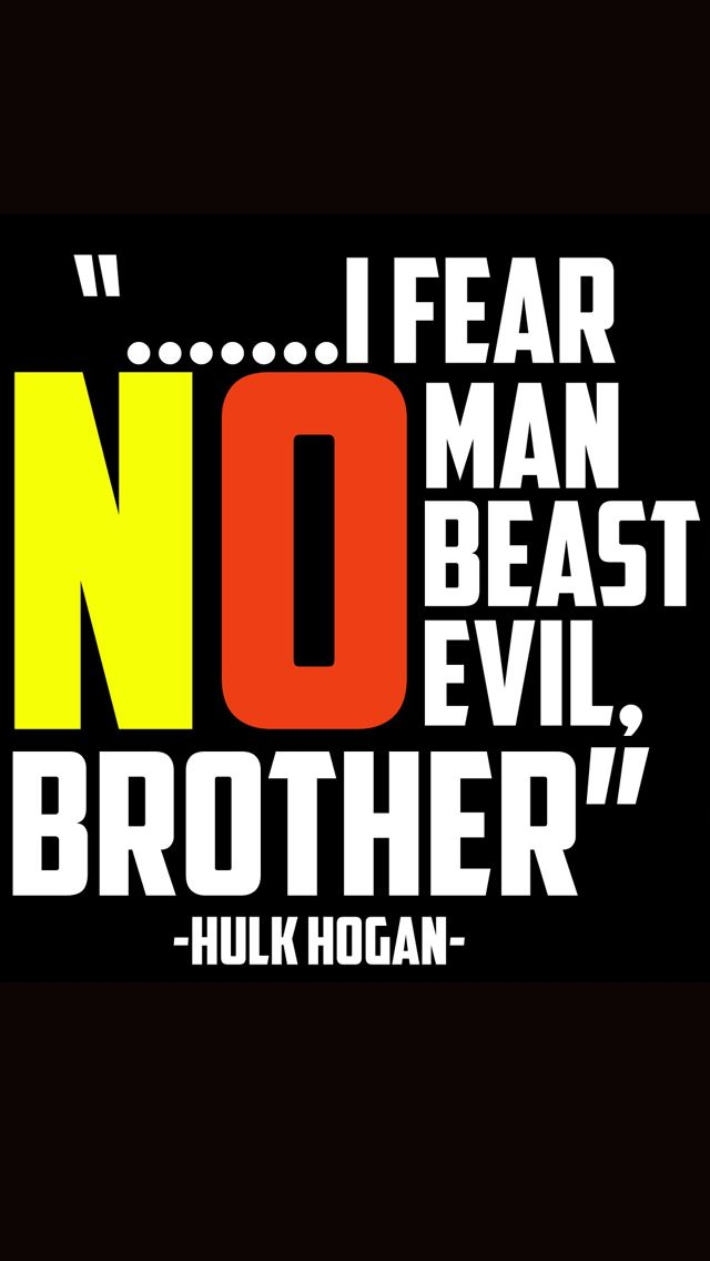 Hulk Hogan Wwe Quotes