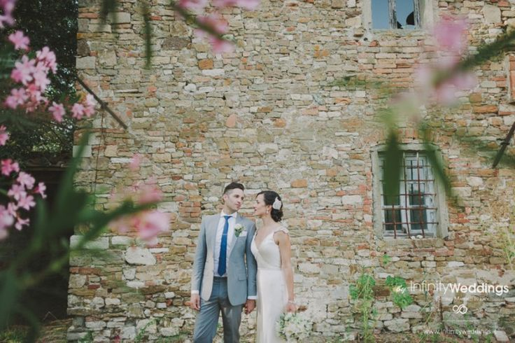 Anita and Luke's amazing wedding in Tuscany: this region of Italy is such a magic scenery for a wedding!