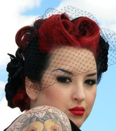 love hair / make up combination
