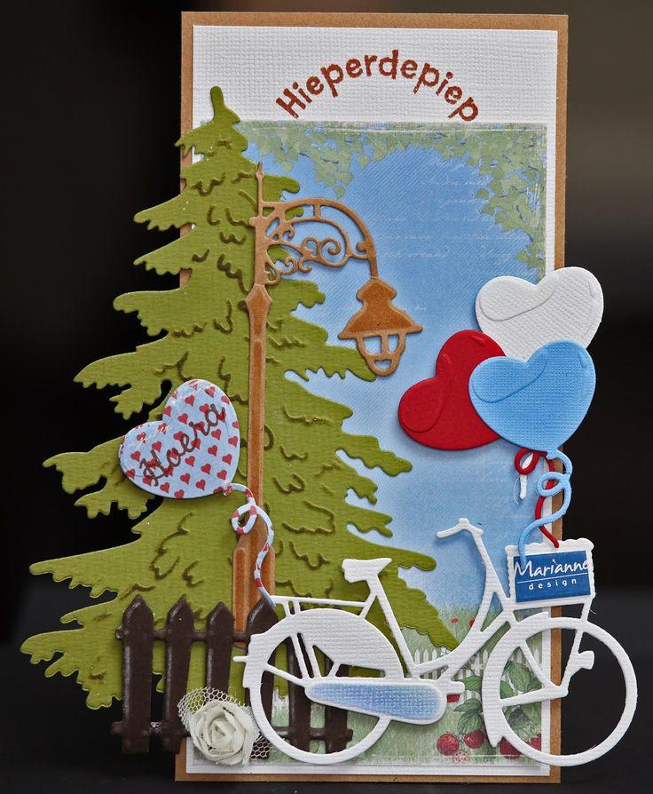 660 best Marianne Design images on Pinterest Die cutting Card