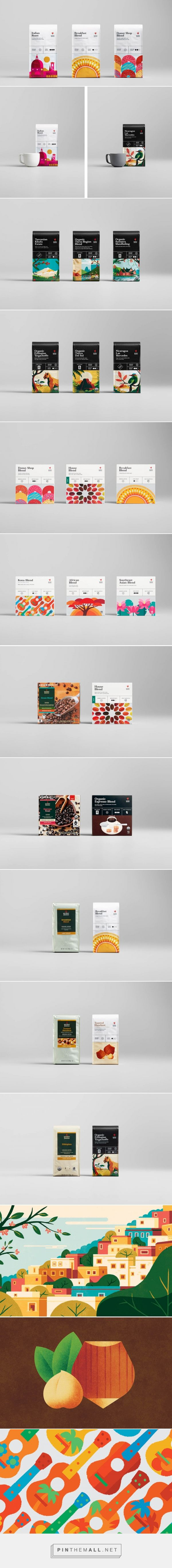 Target's Archer Farms Redesign / coffee packaging / designed by Target Creative Team & Collins