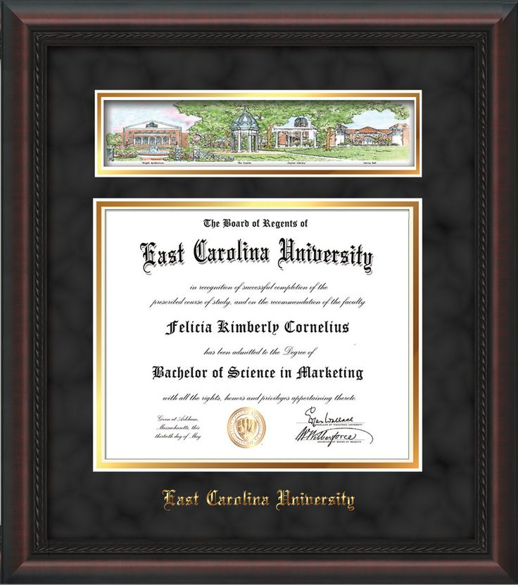 80 best ECU - East Carolina University Diploma frames & Graduation ...