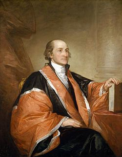 John Jay (December 12, 1745 – May 17, 1829) was an American statesman, Patriot, diplomat, a Founding Father of the United States, and the first Chief Justice of the United States (1789–95).