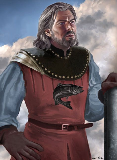 Ser Brynden Tully, also known as Brynden the Blackfish, is a knight from House Tully and is the younger brother of Lord Hoster Tully.