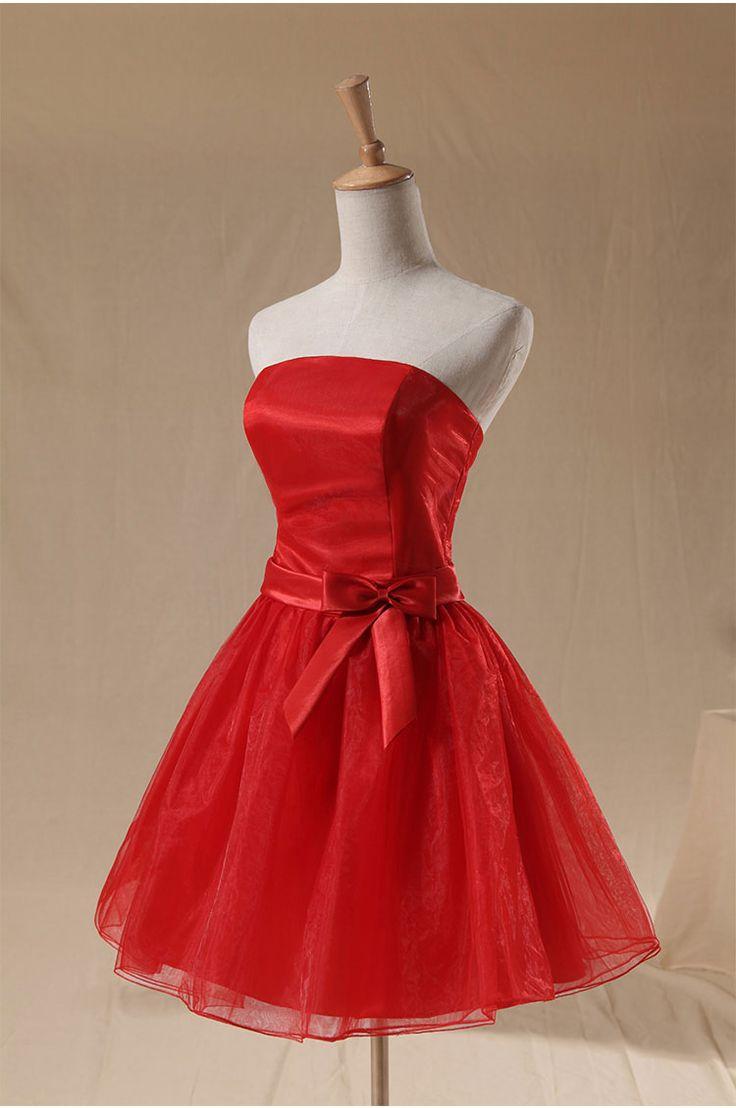 Rochie pentru cununie rosie Red Passion RR3440-a
