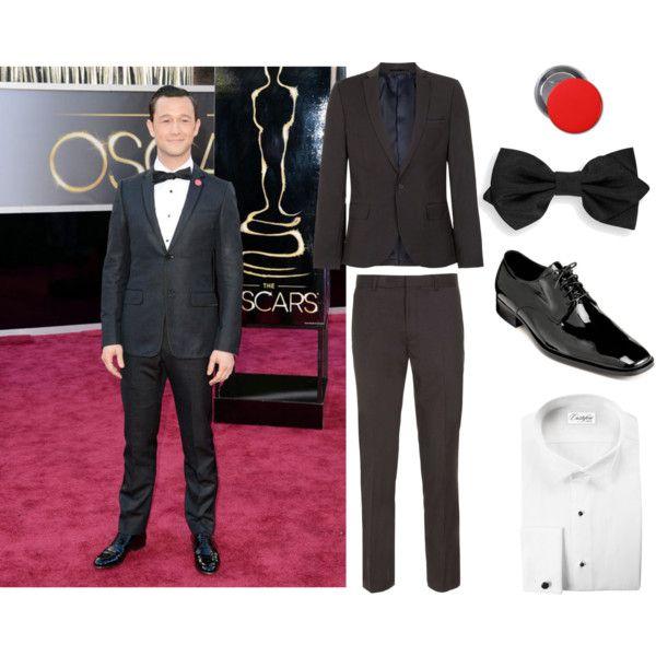 """Josh Gordon Levitt: Oscars 14' Recreation"" by teennetwork on @Polyvore #fashion #joshgordonlevitt #oscars"