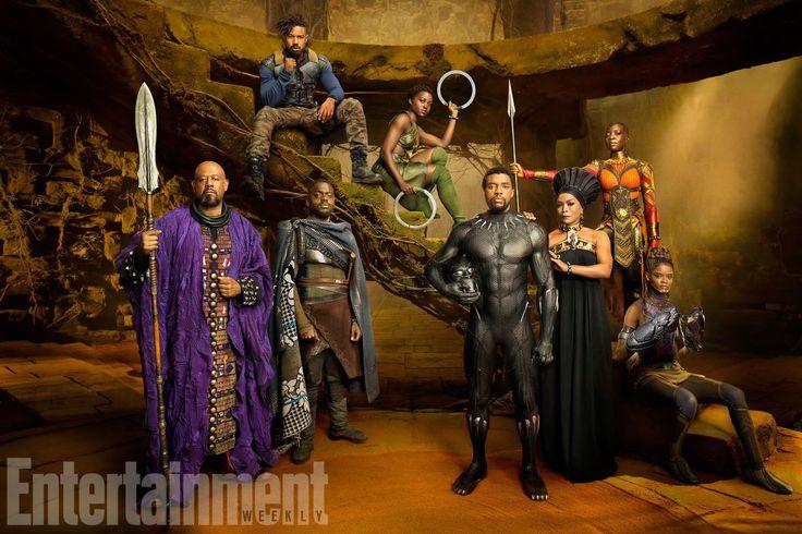 Lo straordinario cast di #BlackPanther nelle 20 foto rilasciate da #EntertainmentWeekly