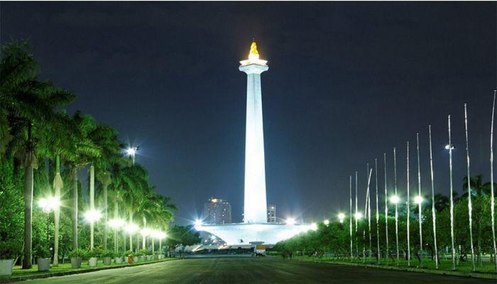 "Tugu ""Monas"" Monumen Nasional, Jakarta."