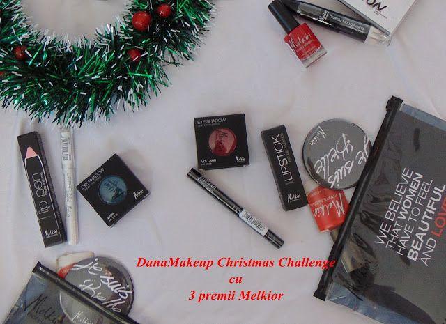danamakeup.ro: Christmas Chalenge cu Melkior