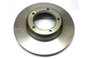 Brake disc - front - vented - Replacement