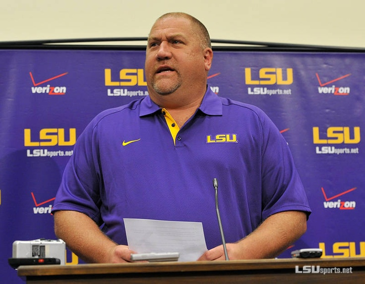 "2012 LSU Football Media Day: Coach ""Stud"""