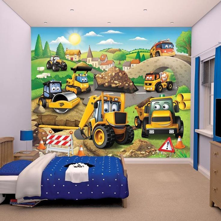 Jcb bedroom curtains
