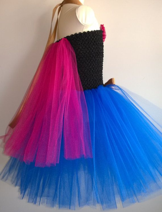 Frozen inspired Princess Anna Tutu Dress Birthday by ForYouWithLuv