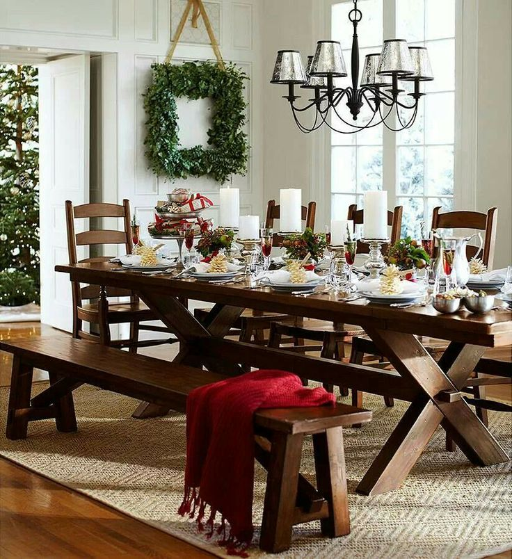 pottery barn living room decorating ideas%0A Pottery Barn  Square WreathChristmas Dining RoomsRoom Decorating IdeasStudio