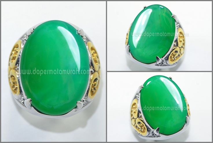 NATURAL GREEN CHALSEDONY CRISTAL - RGT 004