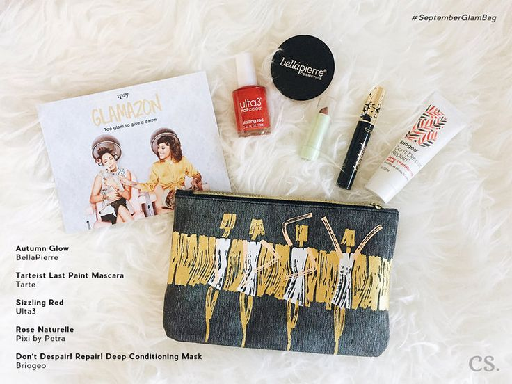 September Glam Bag — cs. | Captivating Soul by Camille P.