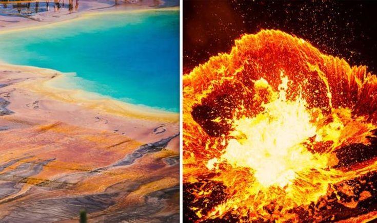 фотопечати йеллоустонский вулкан треснул фото вас есть