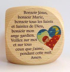 """Dé de prière  """"prières du soir"""""""