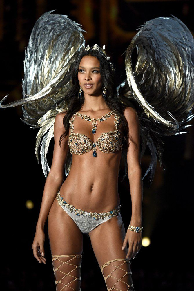 2e9459245b Lais Ribeiro in the Fantasy Bra - click through to see more photos of the 2017  Victoria s Secret fashion show in Shanghai!
