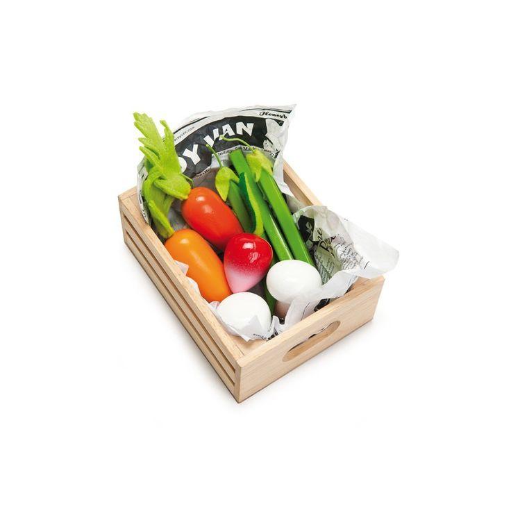 Le Toy Van Ma Récolte de Légumes Multicolore