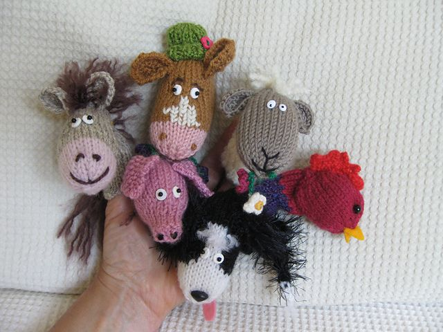 Exelent Finger Puppet Knitting Patterns Composition - Easy Scarf ...