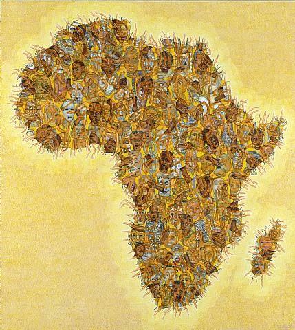 Con el orgullo de ser negro,Un nombre africano quiero.Uno que me haga recordarMis huellas de africanidad.Puede ser Chaminuke o Sundiata,Erasto, Yomo o Alafín.Y si yo fuera una dama,
